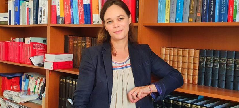 Magali Latry, avocat, de la loi àl'humain